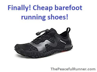 Finally Cheap Barefoot Running Shoes!
