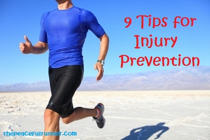 9 Tips for Injury Prevention