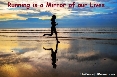 Running is a Mirror